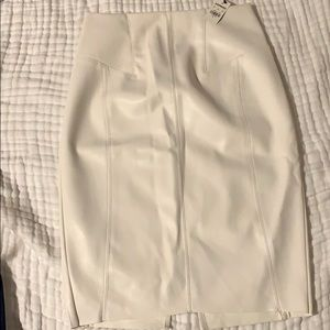 NWT Express pencil skirt minus the leather